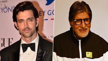 Hrithik Roshan wishes Amitabh Bachchan: अमिताभ बच्चन को ये कहकर बुलाते हैं ऋतिक रोशन, महानायक के जन्मदिन पर कृष ने दी बधाई