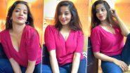 Bhojpuri Actress Monalisa Hot Pics: भोजपुरी एक्ट्रेस मोनालिसा ने गुलाबी टॉप पहनकर दिखाई अपनी हॉट अदा, देखें सेक्सी पिक्चर