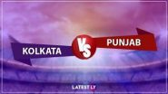 KKR vs KXIP IPL 2020: किंग्स इलेवन पंजाब ने कोलकाता नाइट राइडर्स को  8 विकेट से हराया