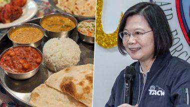 Taiwan की राष्ट्रपति Tsai Ing-Wen का झलका भारत प्रेम, बताया चना मसाला, नान और चाय है फेवरेट