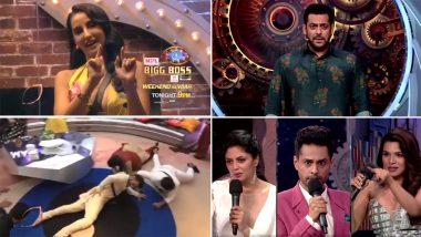 Bigg Boss 14 Update: नोरा फतेही ने 'गर्मी' सॉन्ग पर घरवालों को कराया डांस, शार्दुल पंडित और नैना सिंह के बीच हुआ झगड़ा, देखें Video