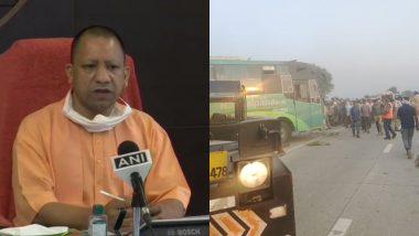 उत्तर प्रदेश के अलीगढ़ में बस पलटने से 3 की मौत, CM योगी आदित्यनाथ ने जताया दुख