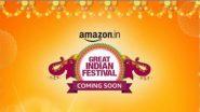 Amazon Great Freedom Festival Sale: अमेज़न ग्रेट फ्रीडम फेस्टिवल सेल में मोबाइल, इलेक्ट्रॉनिक्स पर मिल रही है बंपर छूट, यहां पढ़ें पूरी डिटेल्स