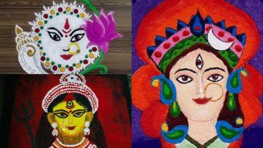 Dussehra 2021 Rangoli Designs: दशहरा के शुभ अवसर पर अपने घर-आंगन को रंगोंली के इन खूबसूरत डिजाइन्स से सजाएं, देखें विडियो