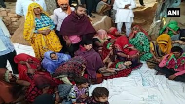 राजस्थान: पुजारी को जिंदा जलानें के ममाले में प्रदर्शन जारी, परिवार ने कड़ी कार्यवाही की मांग करते हुए अंतिम संस्कार से किया इनकार