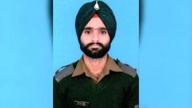 जम्मू-कश्मीर में पाकिस्तानी गोलीबारी में एक भारतीय जवान शहीद लांस नायक करनैल सिंह