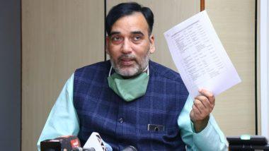 दिल्ली के पर्यावरण मंत्री गोपाल राय बोले- राजधानी में केवल ग्रीन पटाखों के उत्पादन, बिक्री और उपयोग की अनुमति