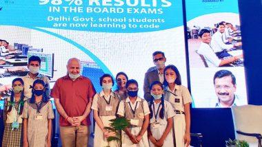 दिल्ली के सरकारी स्कूलों की छात्राओं को कोडिंग और STEM एजुकेशन के बाद अब आप सरकार ने दिया कोडेथाॅन कार्यक्रम में शामिल होने का तोहफा