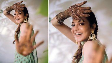 Kajal Aggarwal-Gautam Kitchlu Wedding:सिंघम एक्ट्रेस काजल अग्रवाल की मेहंदी सेरेमनी की फोटो आई सामने, बॉयफ्रेंड गौतम किचलू के साथ करने जा रही हैं शादी