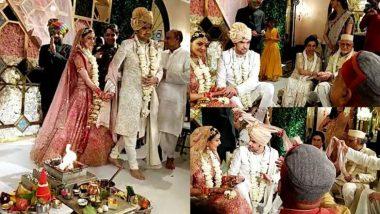 Kajal Aggarwal Wedding Photos: शादी के बंधन में बंधे काजल अग्रवाल और गौतम किचलू, देखिए फंक्शन के अंदर की ढेर सारी तस्वीरें