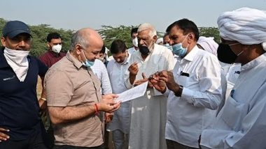 दिल्ली: उपमुख्यमंत्री मनीष सिसोदिया ने किया स्पोर्ट्स यूनिवर्सिटी के प्रस्तावित स्थल का निरीक्षण, कहा- दुनिया में भारत का नाम रौशन करेगी ये यूनिवर्सिटी