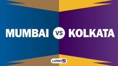 MI vs KKR 32nd IPL Match 2020: मैच से पहले यहां पढ़ें मुंबई इंडियंस बनाम कोलकाता नाईट राइडर्स के बीच कैसे रहे हैं आंकड़ें