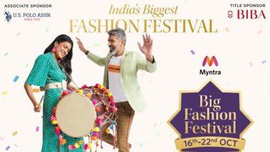 Big Fashion Festival 2020: मिंत्रा 'बिग फैशन फेस्टिवल' की धमाकेदार शुरुआत, पहले ही दिन 1.4 करोड़ खरीददारों की लगी भीड़