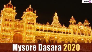 Mysore Dasara 2020: मैसूर दशहरा से जुड़ी परंपराएं और समारोह इस उत्सव को बनाते हैं बेहद खास, जानें शुभ तिथि, विजय मुहूर्त और महत्व