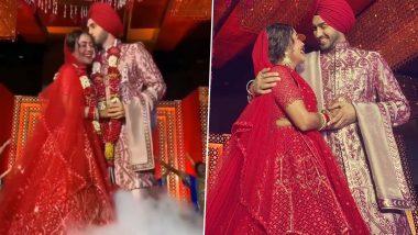 Neha Kakkar-Rohanpreet Singh Wedding: दुल्हन बनी नेहा कक्कड़ने रोहनप्रीत सिंह को पहनाईवरमाला, देखें इनकी ग्रैंड वेडिंग की ये Photos और Videos