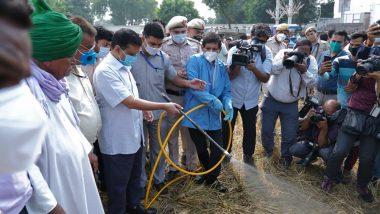 सीएम अरविंद केजरीवाल ने बाॅयो डीकंपोजर घोल के छिड़काव का किया शुभारंभ, कहा- प्रदूषण से निपटने के लिए सभी राज्य सरकारों और केंद्र सरकार को करना होगा सहयोग