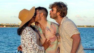 Priyanka Chopra को Kiss करते Nick Jonas की ये फोटो हुई वायरल, रोमांटिक अंदाज में दिखा ये कपल
