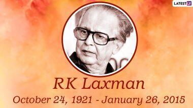 RK Laxman 99th Birth Anniversary: भारतीय कार्टूनिस्ट आर के लक्ष्मण ने अपने कार्टून के जरिये दिखाया 'कॉमन मैन' का चेहरा, जानें इनके बारे में कुछ रोचक तथ्य