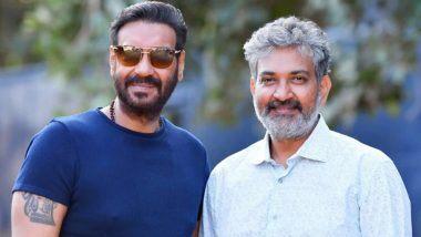 SS Rajamouli Gets Birthday Message From Ajay Devgn: अजय देवगन ने फिल्म RRR के डॉयरेक्टर राजामौली को उनके जन्मदिन की दी बधाई, कहा- आपके साथ काम करना सन्मान की बात