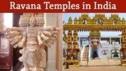 Dussehra 2020 Special: ये हैं भारत के प्रसिद्ध रावण मंदिर, जहां विजयादशमी पर की जाती है लंकापति की पूजा