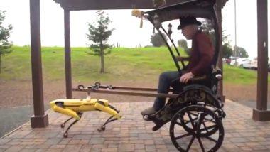 Robot Pulls Rickshaw Video: रिक्शा खींचते रोबोट का वीडियो इंटरनेट पर वायरल, जिसे देख आप भी हो जाएंगे हैरान