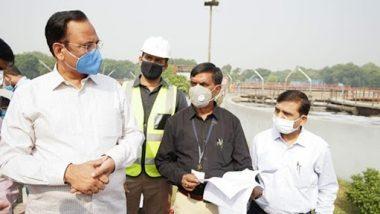 दिल्ली के जल मंत्री सतेंद्र जैन ने तिमारपुर व भलस्वा झील साइट का किया निरीक्षण, रोहिणी-रिठाला-कारोनेशन वेस्ट वाटर ट्रीटमेंट प्लांट का भी किया दौरा