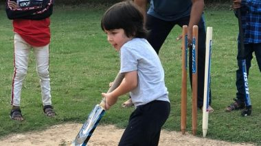 Taimur Ali Khan पर चढ़ा IPL का बुखार? करीना कपूर खान ने क्रिकेट खेलते हुए फोटो की शेयर
