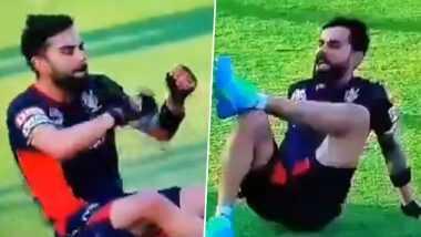 IPL 2020: विराट कोहली ने मैदान में एक्सरसाइज करते हुए किया जमकर डांस, देखें वीडियो