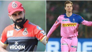 RCB vs RR 15th IPL Match 2020: विराट कोहली और देवदत्त पडिकल की शानदार हाफ सेंचुरी, बैंगलोर ने राजस्थान रॉयल्स को 8 विकेट से रौंदा