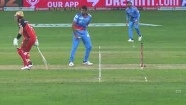RCB vs DC 19th IPL Match 2020: दुबई में रविचंद्रन अश्विन ने की मांकडिंग की यादें ताजा, एरोन फिंच को वार्निंग देकर छोड़ा
