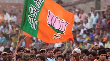 उत्तर प्रदेश: विवादों में घिरे बलिया विधायक सुरेंद्र सिंह पर यूपी के बीजेपी प्रमुख स्वतंत्र देव सिंह ने बरसाए फूल,  'भूमि पूजन' कार्यक्रम में हुए थे शामिल