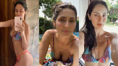 Bruna Abdullah Hot Pics: एक्ट्रेस ब्रूना अब्दुल्लाह ने बिकिनी पहनकर शेयर की हॉट बाथरूम सेल्फी, सेक्सी फिगर से मचाया बवाल