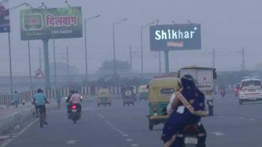 दिल्ली में वायु गुणवत्ता 'बेहद खराब' श्रेणी में