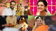 Kajal Aggarwal Wedding Photos:काजल अग्रवाल-गौतम किचलू प्री-वेडिंग सेरेमनी की फोटोज हुई वायरल, खूबसूरत अवतार में दिखा कपल