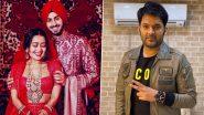 Neha Kakkar-Rohanpreet Singh Wedding: कॉमेडियन कपिल शर्मा ने नेहा कक्कड़ और रोहनप्रीत सिंह को दी शादी की बधाई, सिंगर ने ऐसे किया रियेक्ट