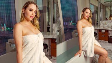 XXX Star Mia Malkova New Photo: पोर्न स्टार मिया मालकोवा ने टॉवल पहन दिया हॉट पोज, बोल्ड फोटो उड़ा देगी होश