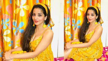 Monalisa Hot Photo: भोजपुरी एक्ट्रेस मोनालिसा का एक बार फिर दिखा खूबसूरत अंदाज, यलो कलर की ड्रेस में बिखेरा जलवा