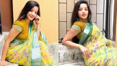 Bhojpuri Actress Monalisa Photos: भोजपुरी फिल्मों की खूबसूरत एक्ट्रेस मोनालिसा ने साड़ी पहनकर दिखाई अपनी हॉट अदा, तस्वीरें हुई वायरल