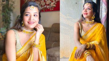 Monalisa Photo: भोजपुरी एक्ट्रेस मोनालिसा ने नवरात्रि के मौके पर दिखाया अपना खूबसूरत अवतार, देखिए क्यूट फोटो
