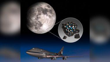Water Found on Moon: NASA ने पहली बार चंद्रमा की सतह पर खोजा पानी, सनलाइट लूनर सरफेस पर मिले अणु