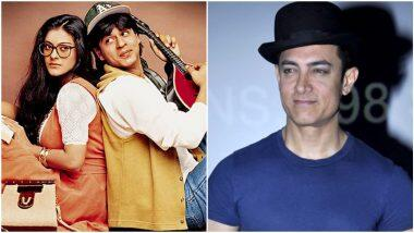 25 Years of DDLJ: आमिर खान है दिलवाले दुल्हनिया ले जाएंगे के फैन, पोस्ट किया ये खास मैसेज