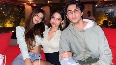 Suhana Khan Photo with Aaryan Khan: सुहाना खान ने भाई आर्यन खान के साथ पोस्ट की ये प्यारी तस्वीर, इंटरनेट पर हुई Viral