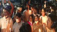 Hathras Gangrape: हाथरस दुष्कर्म मामले के बाद 'दलित बेटी को न्याय दो' के नारे से गूंज उठा DND