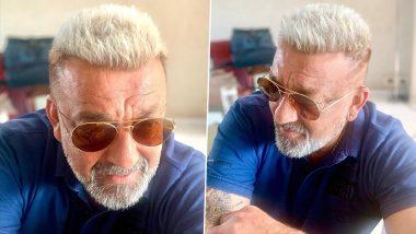 Sanjay Dutt New Look: कैंसर के चलते इतनी बदल गई है संजय दत्त की पर्सनालिटी, एक्टर का Blonde लुक हुआ Viral