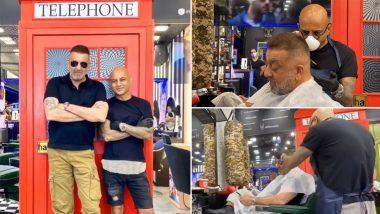 Sanjay Dutt New Look: कैंसर से जूझ रहे संजय दत्त ने बदला अपना लुक, सलून से मेकओवर का ये Video हुआ Viral