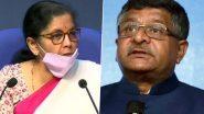 Bihar Assembly Elections 2020: BJP आज जारी करेगी अपना चुनावी घोषणा-पत्र, केंद्रीय मंत्री निर्मला सीतारमण और रविशंकर प्रसाद समेत कई दिग्गज नेता रहेंगे मौजूद