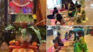 Shilpa Shetty Performs Kanya Pujan: शिल्पा शेट्टी ने बेटी समिषा संग किया कन्या पूजन, देखें Photo