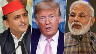 भारत में वायु प्रदूषण पर डोनाल्ड के बयान पर अखिलेश यादव का पीएम मोदी पर तंज, कहा- अपनी नाकामियों पर उन्होंने लाख उठायी दीवार फिर भी दोस्त ने कहा इनकी हवा है खराब