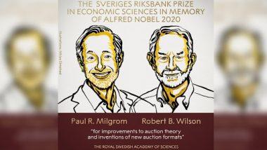 Nobel Prize in Economic Sciences 2020 Winners: ऑक्शन थ्योरी को बेहतर करने के लिए Paul R Milgrom और Robert B Wilson अर्थशास्त्र में नोबेल पुरस्कार से हुए सम्मानित