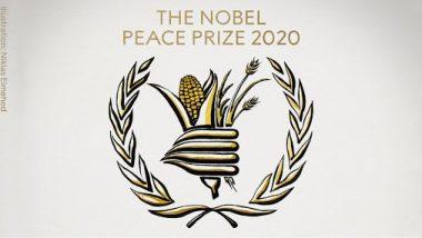 Nobel Peace Prize 2020: नॉर्वे कमेटी ने वर्ल्ड फ़ूड प्रोग्राम को भूखमरी मिटाने के लिए नोबेल शांति पुरस्कार से सम्मानित